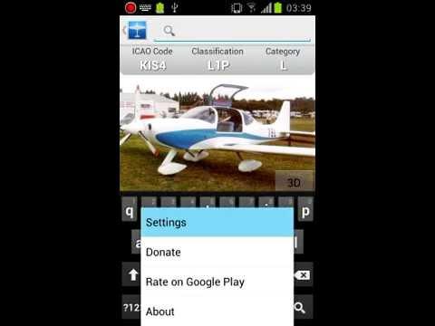 Video of Mobile Aircraft Encyclopedia