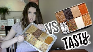 Recreating Buzzfeed Tasty's 8 Desserts in 1 Pan