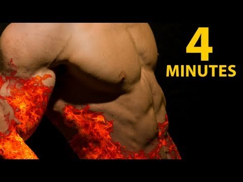 4 Minutes of HELL! - Evil (but good) Fat Burning Workout