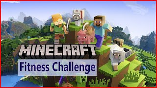 MINECRAFT workout, Minecraft exercise for kids Minecraft Fitness Challenge for kids workout for kids