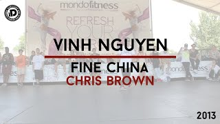 "Vinh Nguyen Choreography ""Fine China - Chris Brown"" - iDanceCamp 2013"