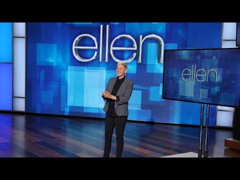 Ellen Finally Gave Up Because of This Show Fail (видео)