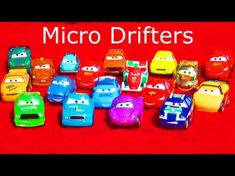 Must See!! 18 Micro-Drifters Cars 2 Entire Collection Mattel Toys Disney/Pixar 2012 Mini Cars Racers
