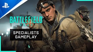 PlayStation Battlefield 2042 - First Look at New Specialists - PS5, PS4 anuncio