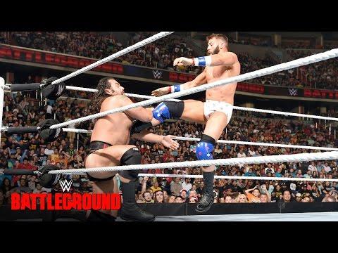 Zack Ryder vs. Rusev - U.S. Title Match: WWE Battleground 2016 on WWE Network