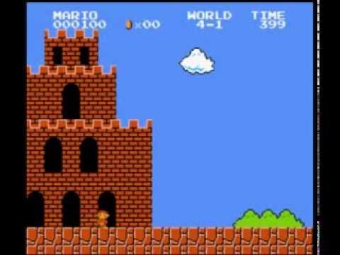 Super Mario Bros. 600 points run (видео)