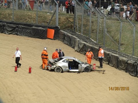 Brands Hatch 2016 – Quali – Andrew Bourke Crash