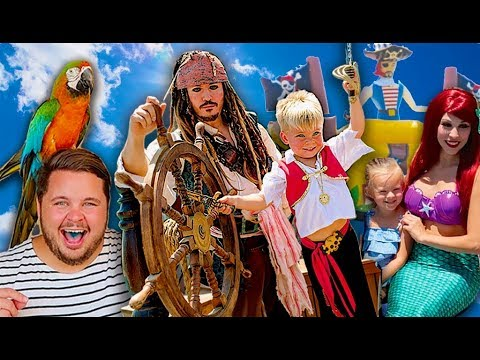PIRATES & MERMAIDS MAGICAL BIRTHDAY SURPRISE PARTY SPECIAL!