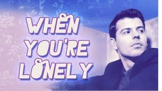 When you're lonely- Jordan Knight (Subtitulos en español)