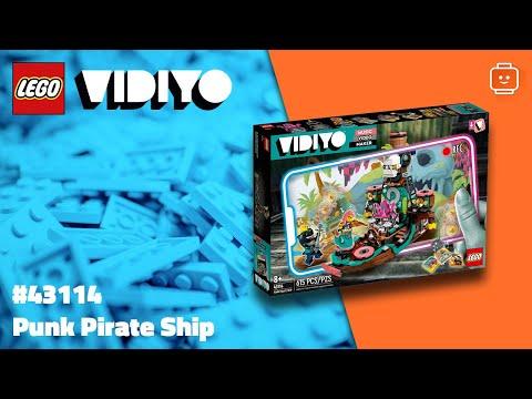 Vidéo LEGO VIDIYO 43114 : Punk Pirate Ship