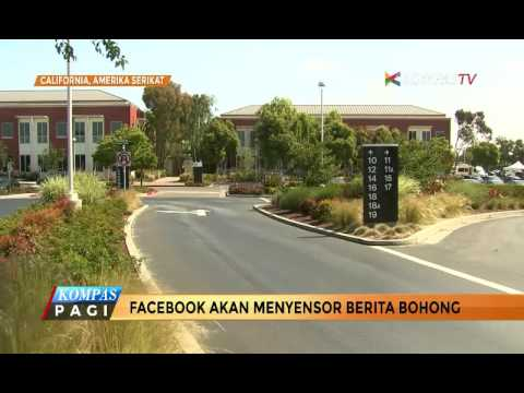 Facebook Akan Menyensor Berita Bohong