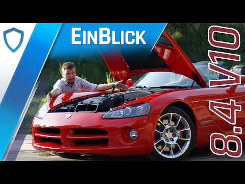 Dodge Viper SRT10 (2009) - Männertraum oder falsche Schlange? Vorstellung & Test