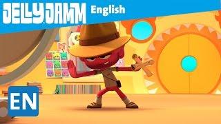 Jelly Jamm English. The Sticker. Children's animation series. (S02 - E68)