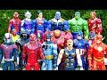 Thanos vs Avengers Superman Hulk Iron Man Thor Spiderman Full Fight