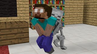 Monster School: Mobs Brave - Farming  - Minecraft Animation