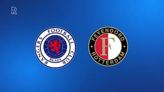 Zo klonk Rangers FC - Feyenoord (1-0) op Radio Rijnmond