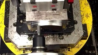 Desbastado Sprutcam Fastmill, Fresadora de 16 mm, Material: 1.2085 bonificado