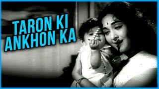 Taron Ki Ankhon Ka | Phoolon Ki Sej | Lata Mangeshkar | Vyjayanthimala | Manoj Kumar
