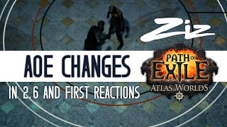 Ziz - Reaction to Area of effect changes