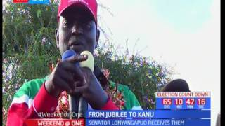 A section of Jubilee's West Pokot secretariat defect from Jubilee to KANU