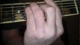 how to play cumbersome on guitar by 7 mary 3 - easy beginner guitar tutorial