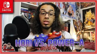 BEST CONTROLLER FOR SMASH ULTIMATE?! | Hori vs. PowerA