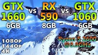 rx 590 vs gtx 1660 ti ryzen 5 2600 - Thủ thuật máy tính - Chia sẽ