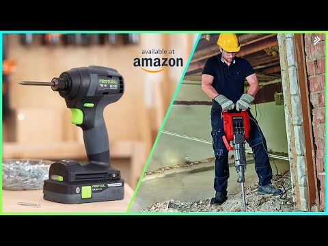 8 New Amazing Power Tools You Should Have Available On Amazon