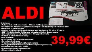 TEST - Aldi Drohne - Jamara Altitude JQC 39.99€