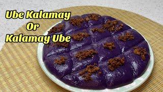 How to cook Ube Kalamay/ Kalamay Ube