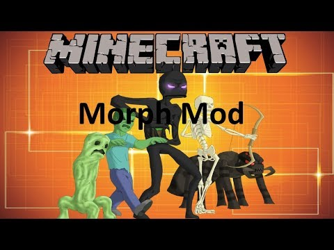 THE MORPH MOD - MINECRAFT 1.12.2 (MOD SHOWCASE)