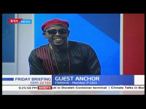 Guest anchor: Musician, rapper, politician and medical doctor Frasha