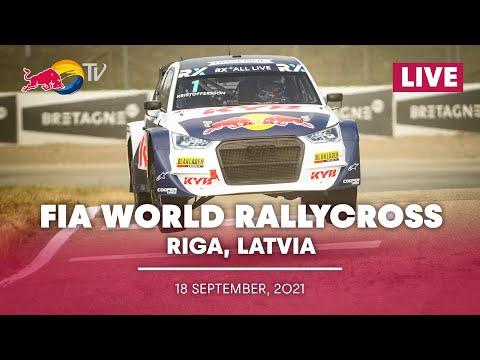 世界ラリークロス 第4戦ラトビア(リガ)2021年 プレショーのライブ配信動画