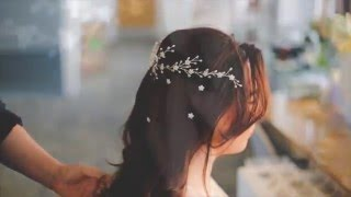 How To Style Wedding Hair Combs And Pins Securely - Even In Long Or Short Loose Hair Styles!