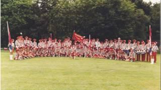 ViJoS Drum en Showband Spant 1982 25 jarig jubileum
