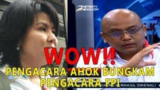 WOW Ucapan Pengacara AHOK Ini Bungkam Pengacara FPI