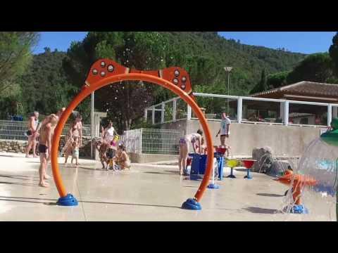 aire de jeux aquatiques en Cévennes