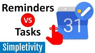 Task and Reminders in New Google Calendar