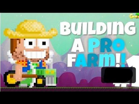 Building Pro Farm world with 50wl - growtopia - Ibnu Qayyim