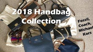 Contemporary Designer 2018 Handbag Collection! (Coach, Fossil, Michael Kors)
