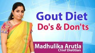 Hi9   Gout Diet Do's & Don'ts   Madhulika Arutla   Chief Dietitian