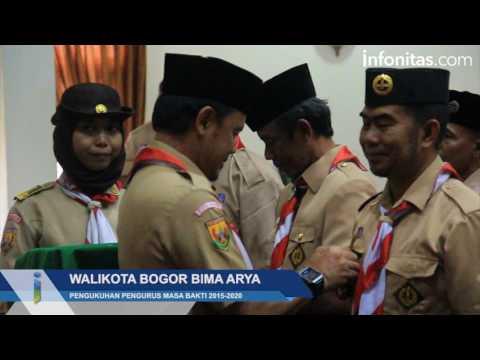 Pengukuhan Ketua Mabiran Pramuka se-Kota Bogor
