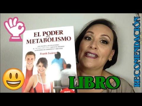 SALUD Y BIENESTAR /Libro - El Poder del Metabolismo / Gracia Tips ♥
