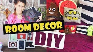 DIY:Geek Room Decor Pinterest Inspired/Декор комнаты/DIY на русском|Fosssaaa