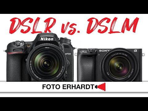 DSLR vs. DSLM: Nikon D7500 und Sony Alpha 6400 im Vergleich