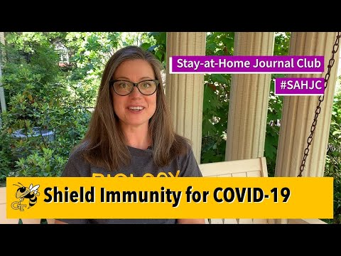 Stay-at-Home Journal Club #7 - Shield Immunity in COVID-19
