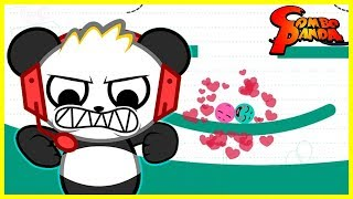 LOVE BALLS ! Let's Play iPad games with Combo Panda