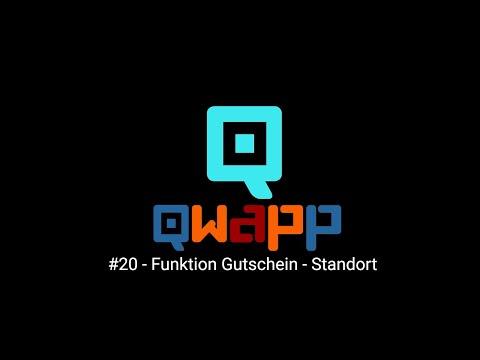 QD #20 Funktion Gutschein Standort