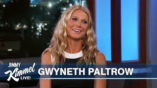 Gwyneth Paltrow on Moving in with Husband, Spider-Man, The Politician & Strange GOOP Products