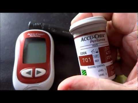 prendre ca glycemie pour un diabetique dextro